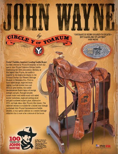john wayne fan club