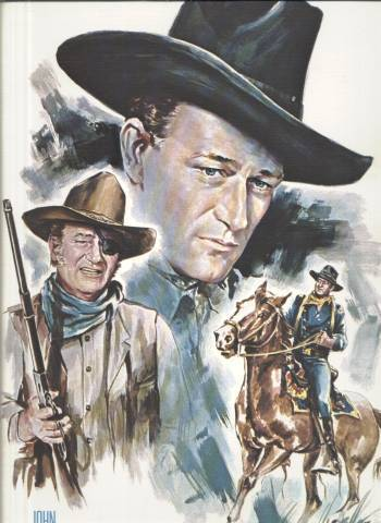 John Wayne wallpaper containing a snap brim hat, a campaign hat, and a fedora called John Wayne Portrait