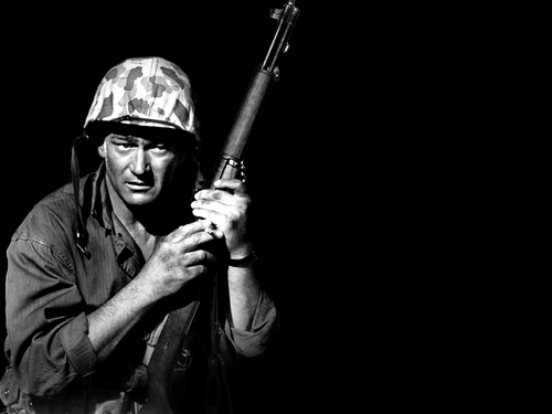 John Wayne پیپر وال