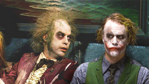 Joker with his dad
