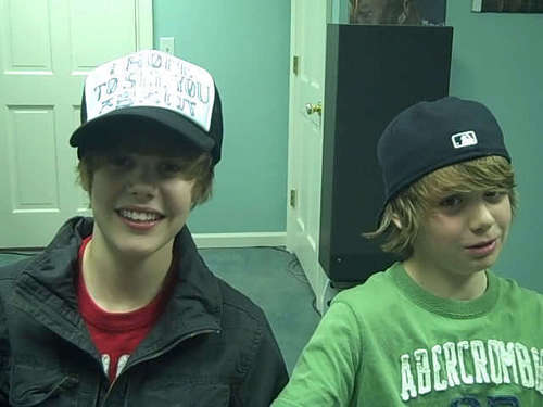 Christian Beadles wallpaper called Justin Bieber and Christian Beadles