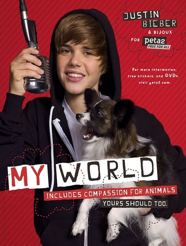 Justin Joins the PETA Campaign