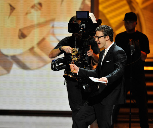 Justin at 61st annual emmy awards