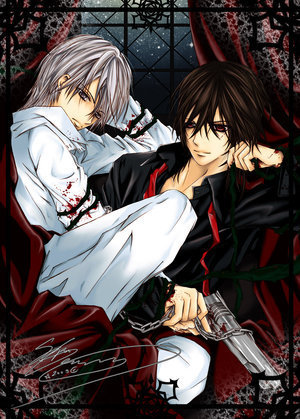 Kaname and Zero - vampire-knight Fan ArtZero And Kaname Vampire Knight