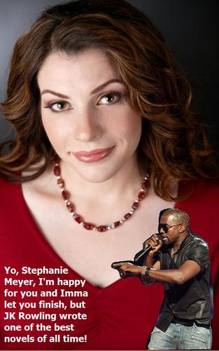Kanye vs Stephenie Meyer