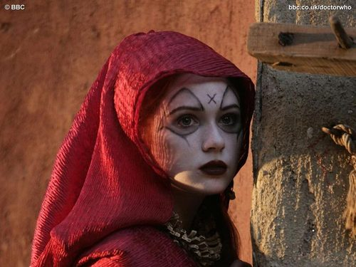 Karen Gillan in Fires of Pompeii