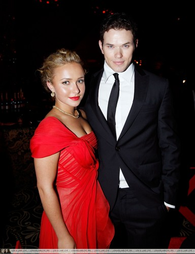 Kellan with Hayden (Awesome Couple, actually :)))