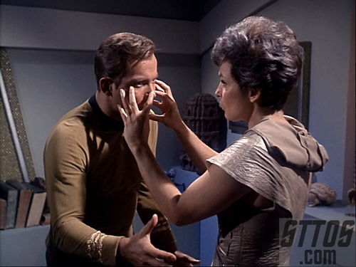 Kirk and Nancy-''The man trap''