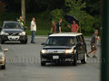 Kristen and Rob on the set Eclpise  - twilight-series photo