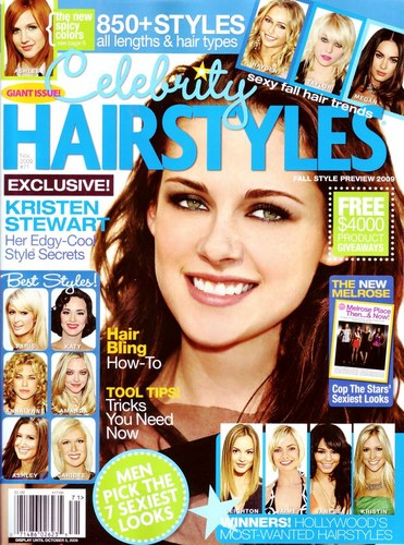 Kristen covers HairStyles Mag