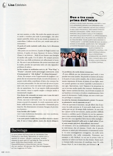 LE in italian magazine part 2