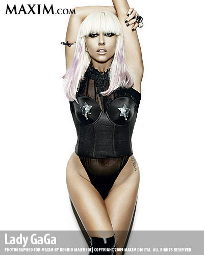 Lady GaGa Maxim PhotoShoot