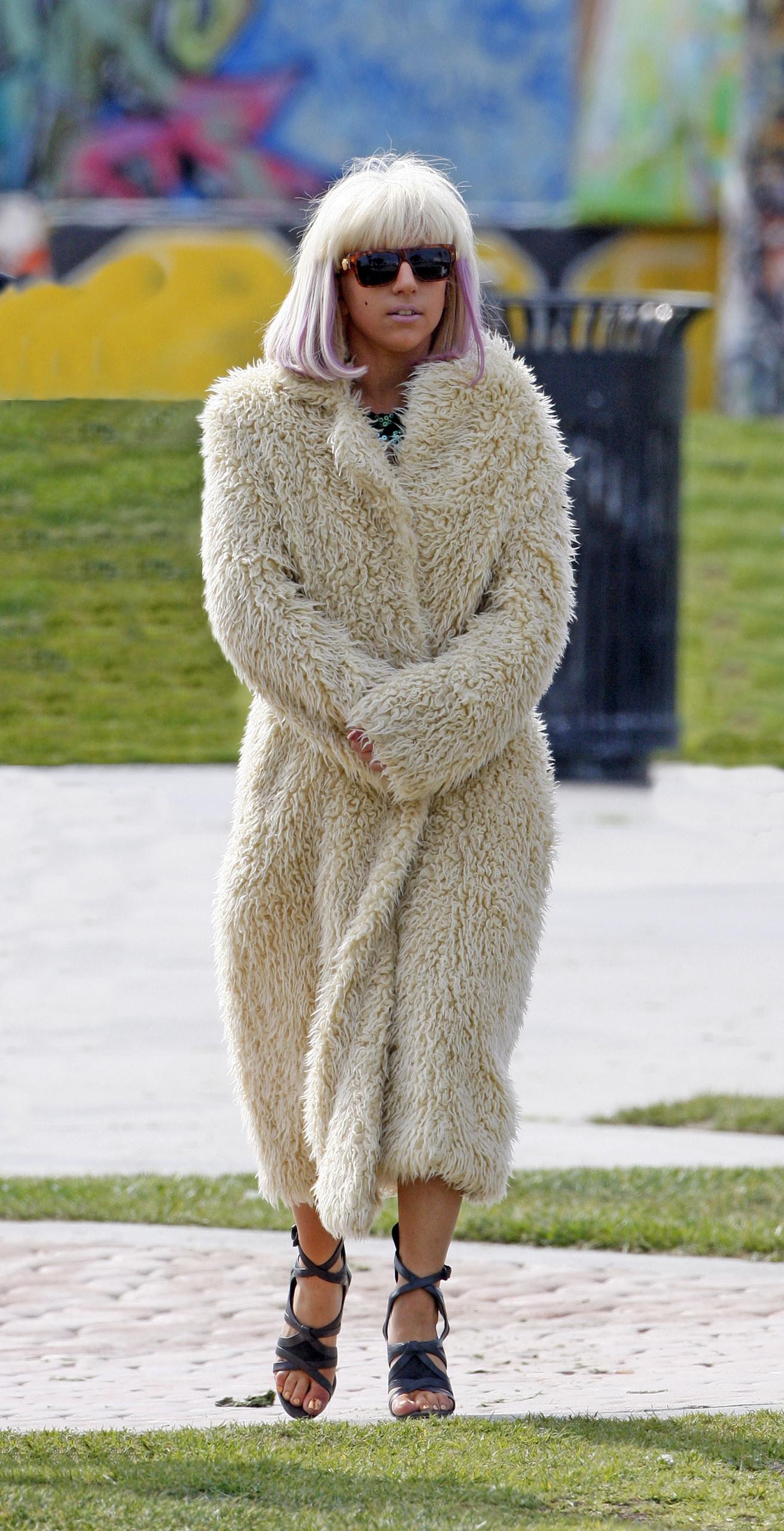 Lady GaGa On Venice Beach