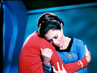 Lieutenant Mira Romaine and Scotty