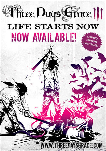 Life Starts Now Promo Banner