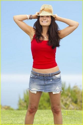 Lindsay in Fitness magazine