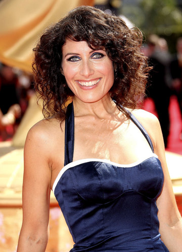 Lisa Edelstein on the Red Carpet @ the 2009 Emmy Awards