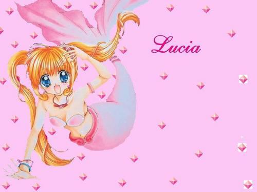 Mermaid Melody Hintergrund called Luchia