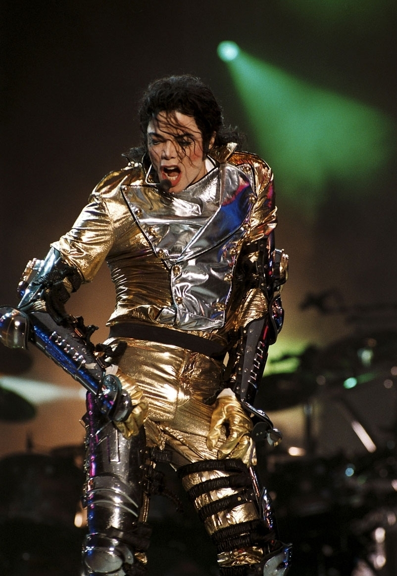 Michael Jackson Images Mj In Gold History Tour Hd Wallpaper And Background Photos 8241420