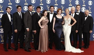 Mad Men Cast @ The 2009 Emmy's