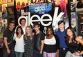 Mark and Dianna with the cast - quinn-and-puck photo