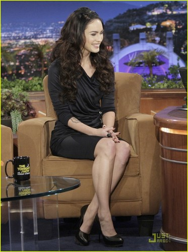 Megan on The Tonight Show with Conan O'Brien