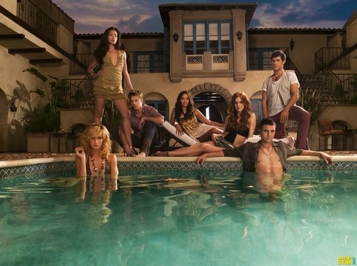 Melrose Place wallpaper titled Melrose Place Season 1 cast promoshoots