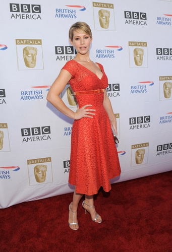 Meredith Monroe@BAFTA LA's 2009 Primetime Emmy Awards TV چائے Party