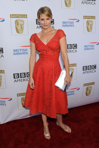 Meredith Monroe@BAFTA LA's 2009 Primetime Emmy Awards TV お茶, 紅茶 Party