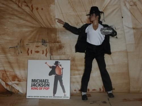 Michael <3 Billie Jean doll