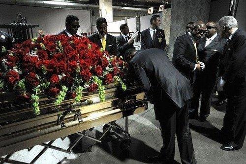 Michael Jackson's funeral