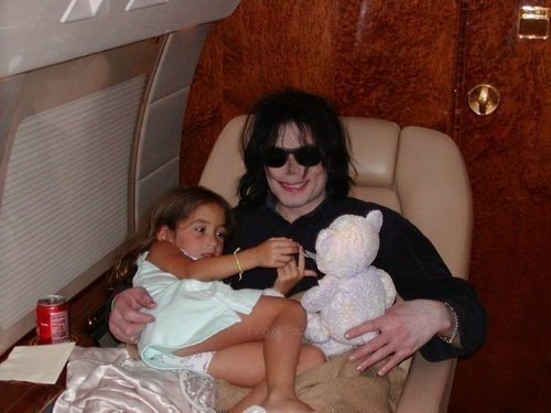 Michael and a girl with a lot of luck