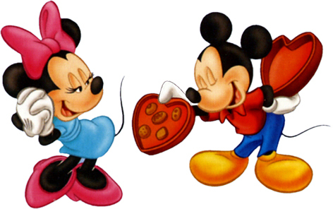 Mickey and Minnie Valentine 日