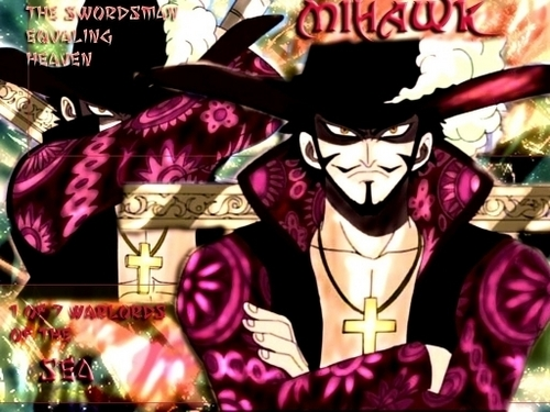 one piece wallpaper containing animê titled Mihawk