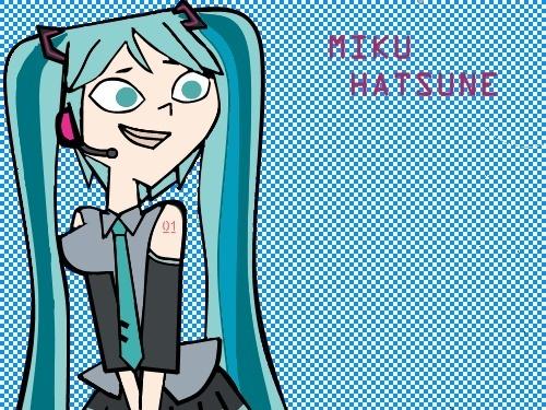 Miku Hatsune in TDI style