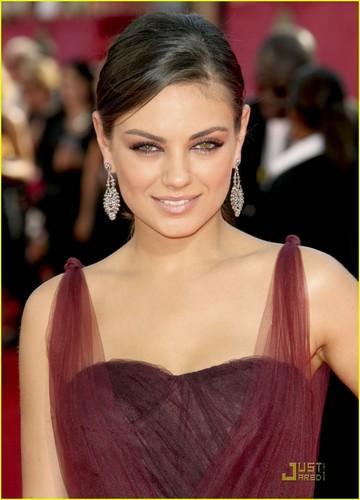 Mila @ the 2009 Emmy Awards