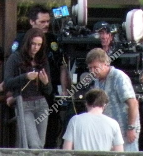mais from Edward and Bella on Eclipse set