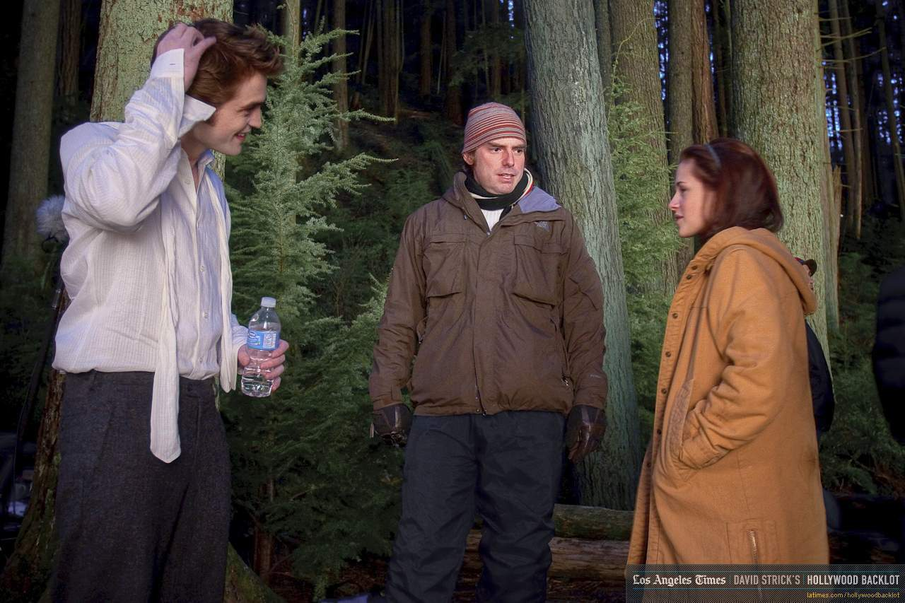 New Moon - Behind The Scenes - Rob & Kristen