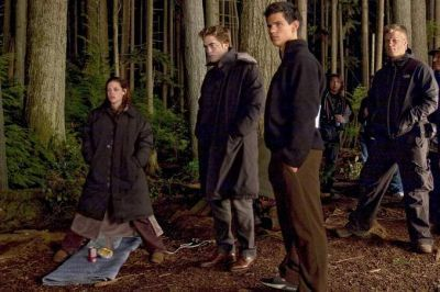 New Moon behind the scenes