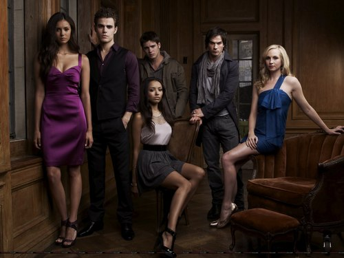 The Vampire Diaries wallpaper titled New cast promo pictures