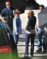 Nikki on set Eclipse  - twilight-series photo