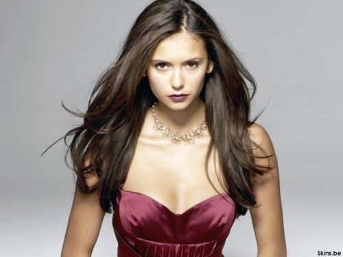 Nina Dobrev wallpaper probably containing a cocktail dress, attractiveness, and a bustier called Nina Dobrev