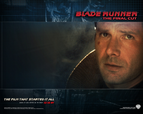 Official Blade Runner fond d'écran
