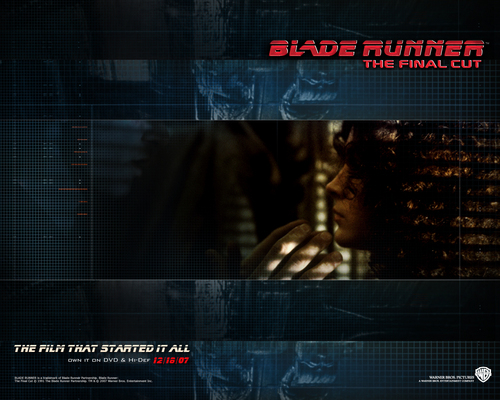Blade Runner wallpaper probably containing a sign titled Official Blade Runner Wallpaper
