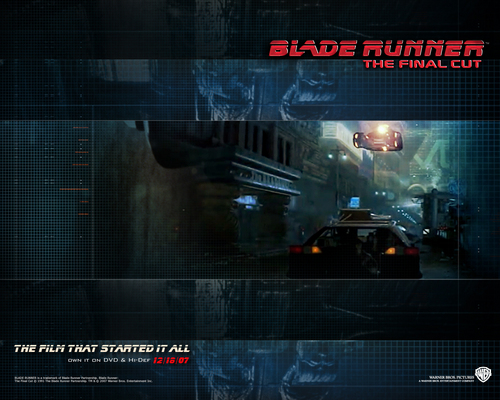 Blade Runner wallpaper probably containing a sign entitled Official Blade Runner Wallpaper