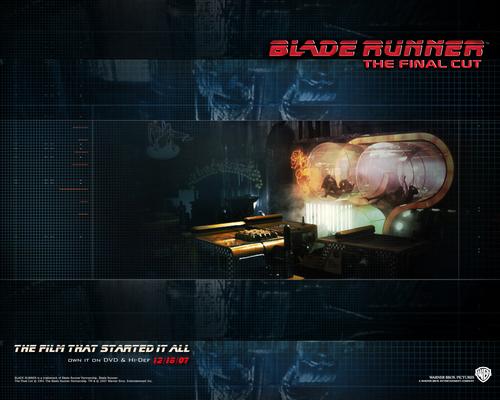 Blade Runner wallpaper titled Official Blade Runner Wallpaper