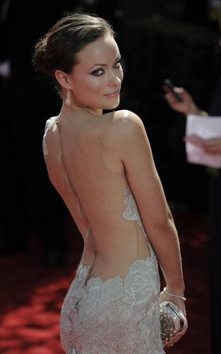 Olivia Wilde Arrives @ the 2009 Emmy Awards