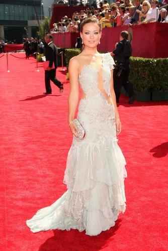 Olivia at the Emmy Awards