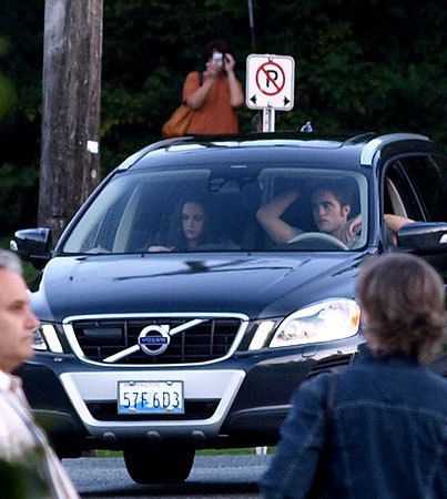 foto GALLERY: Robert Pattinson & Kristen Stewart Film Eclipse