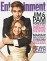 Pam and Jim Wedding (Jam) Cover for EW - the-office photo